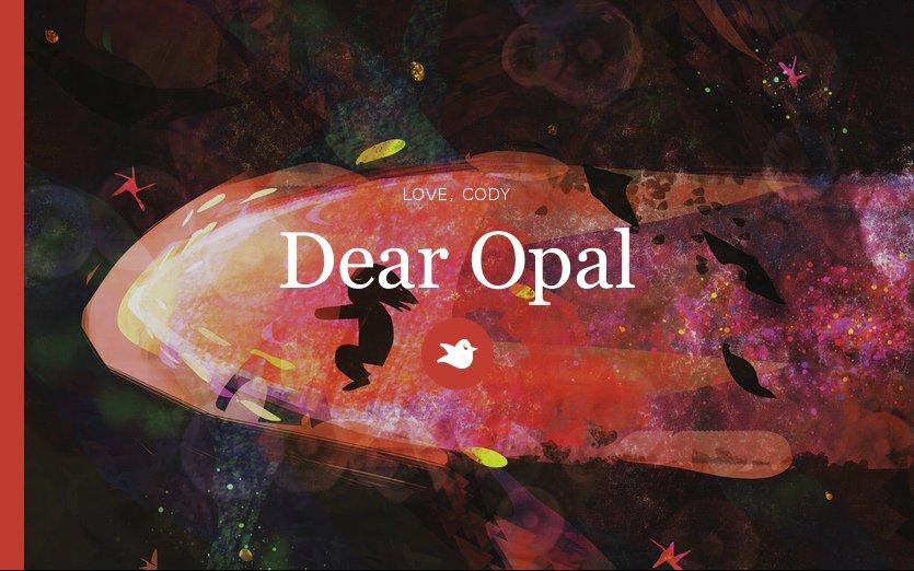 storybird challenge dear opal