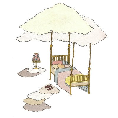 The flying bed
