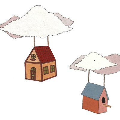 The flying houses