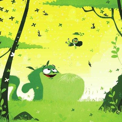 green frog monster