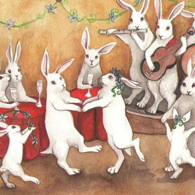 Dancing Rabbits