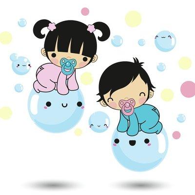 Bubble babies!