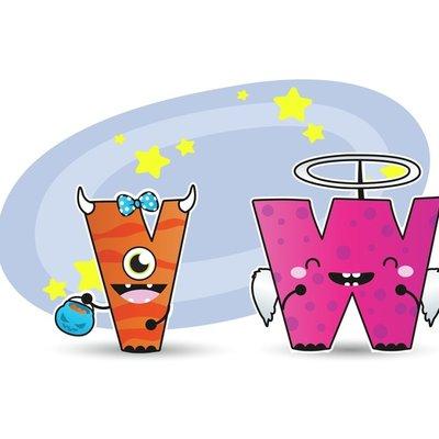 Monster V & W