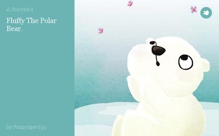 Fluffy The Polar Bear.