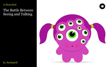 The Battle Between Seeing and Talking