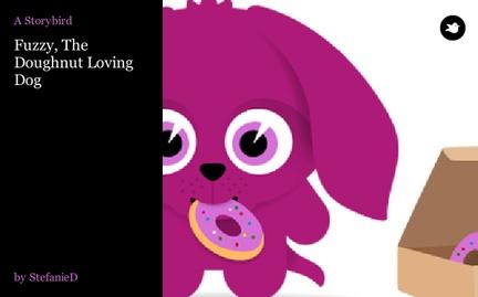 Fuzzy, The Doughnut Loving Dog