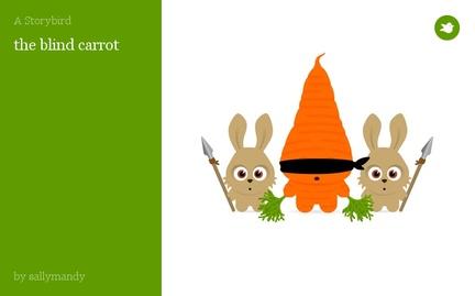 the blind carrot