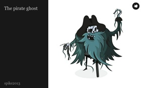 The pirate ghost