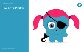 Five Little Pirates