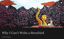 Why I Can't Write a Storybird